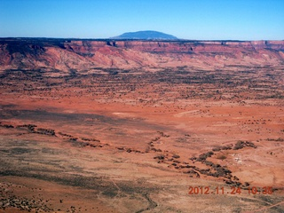 3 83q. aerial - flight to Monument Valley