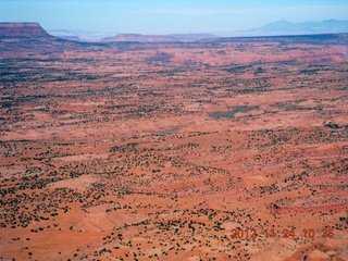 5 83q. aerial - flight to Monument Valley