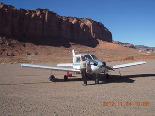 11 83q. N8377W and Adam at Monument Valley