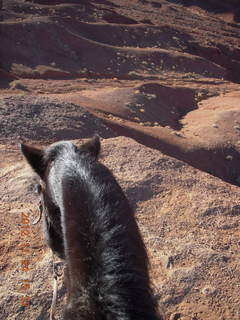 97 83q. Monument Valley tour - view from horseback at John Ford point