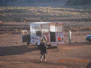 180 83q. Monument Valley tour - Kristina and tour vehicle