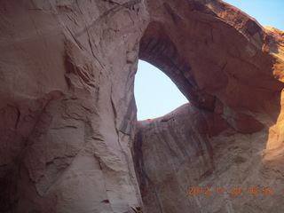 218 83q. Monument Valley tour - Sun's Eye arch