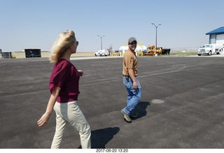 42 9sl. Thermopolis Hot Springs Airport (HSG) - Kim and FBO fellow