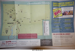 139 9sl. Sweetwater County map