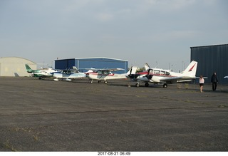 20 9sm. Riverton Airport - airplanes