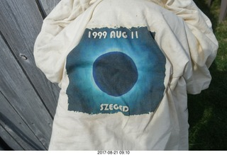 40 9sm. my 1999 Aug 11 eclipse t-shirt