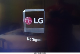 131 9sm. LG - No Signal on our television
